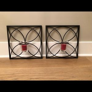 Pier 1 Decorative Wall Candle Holders